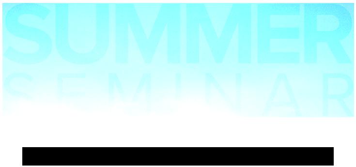 Summer Seminar Hero